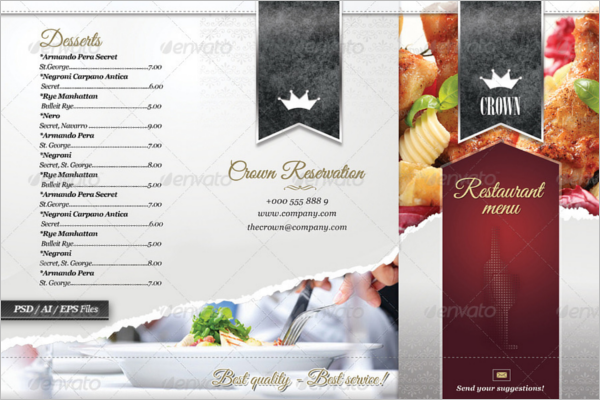 Business Restaurant Brochure