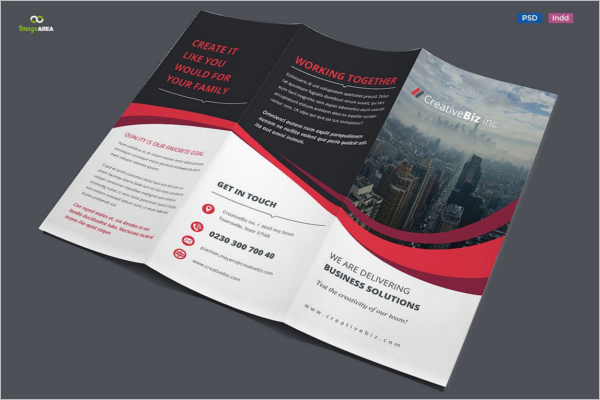 Business Services Brochure Template