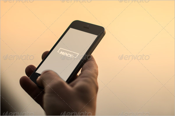 Business iPhone Mockup Design