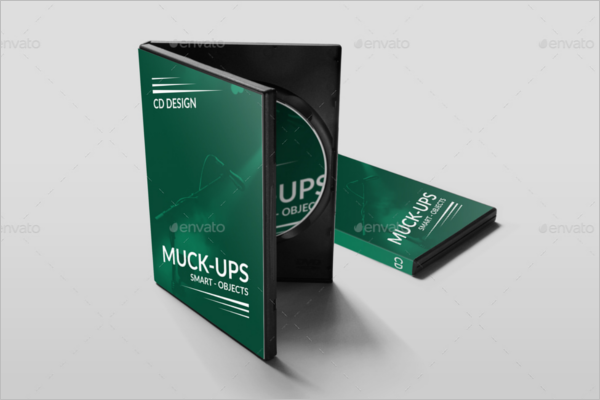 CD Mockup Product Design