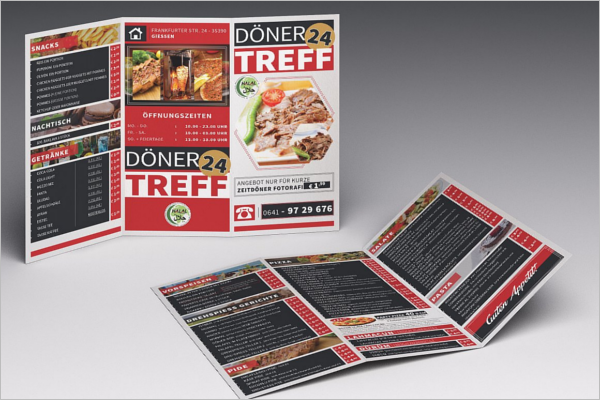Cafe & Food Brochure Template