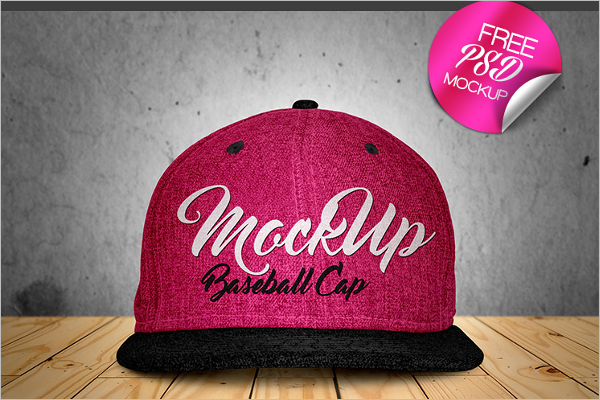 Cap Mockup Sample
