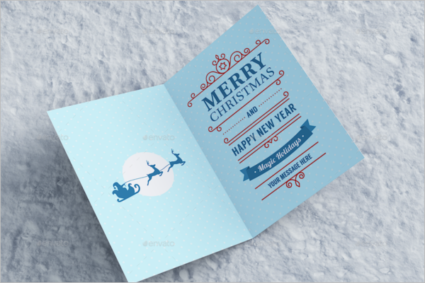 Celebration Invitation Card Mockup