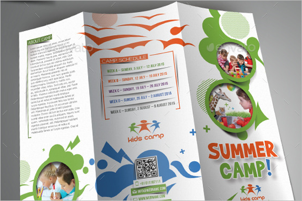 Children Brochure Template