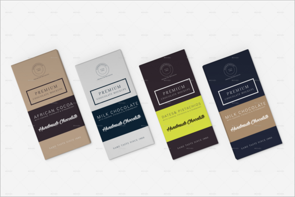 Chocolate Packaging Mockup Design
