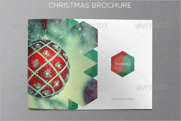 Christmas Brochure InDesign