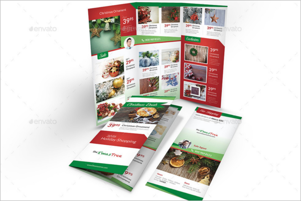 Christmas Sale Brochure Template