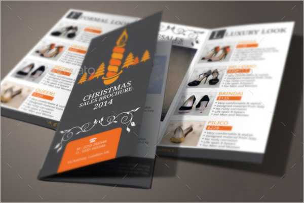 Christmas Sales Brochure Example