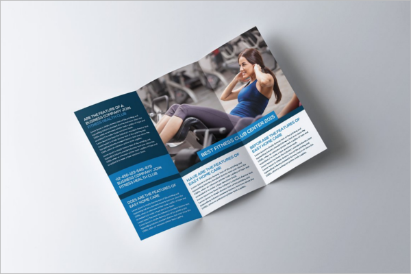 Clean GYM Brochure Template