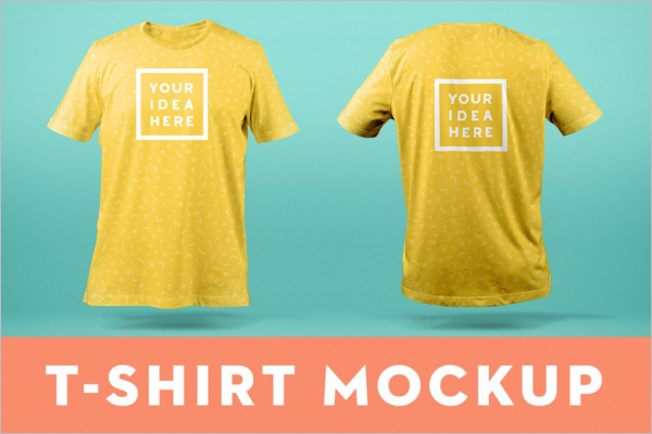 Clothing T-Shirt Mockup