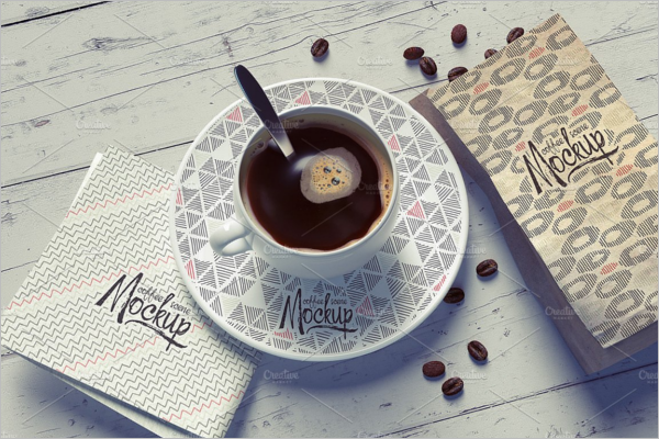 Coffee Cup Mockup Design Template