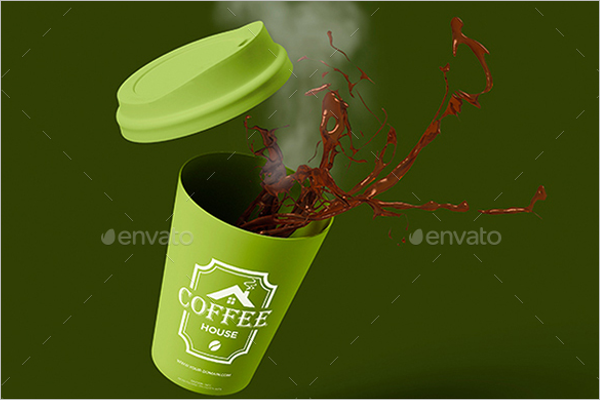 Coffee Cup Mockup PSD