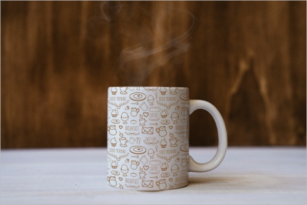 Coffee Cup Mockup PSD Free Download