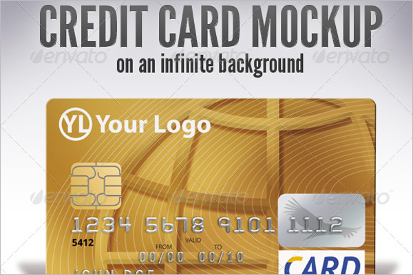 Commercial Credit Card Mockup