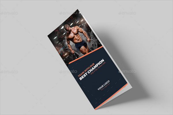 Companny GYM Brochure Template