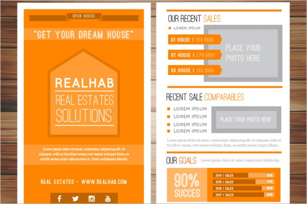 Company Real Estate Brochure Template