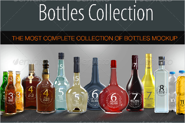 Complete Bottle Mockup Set