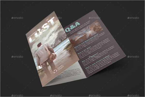Conference Event Brochure Template