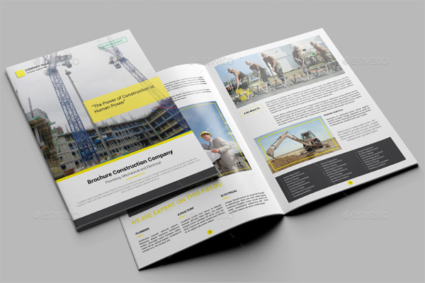 Constcution Brochure Template