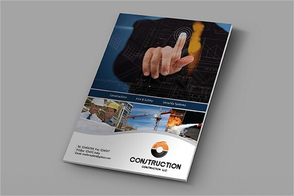 Construction Brochure Free PSD
