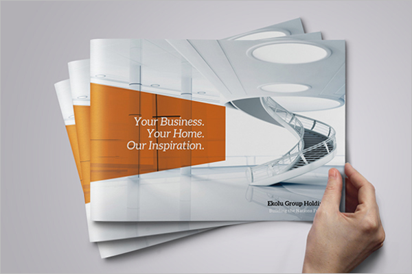 Construction Brochure Template Free