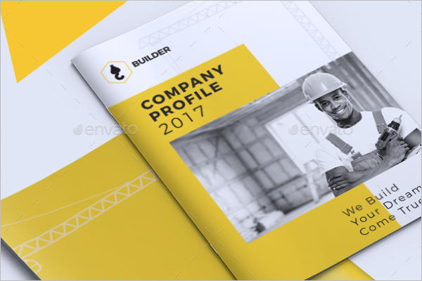Construction Company Brochure Template