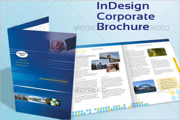 Corporate A4 Brochure Design