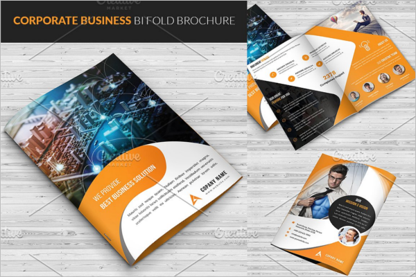 Corporate Agency Brochure Template