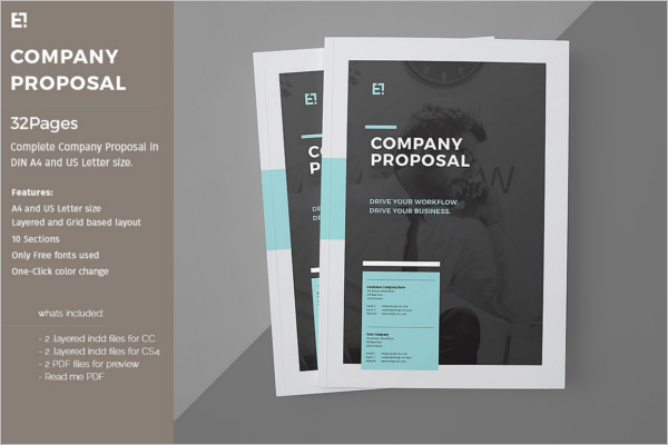 Corporate Brochure Template Pack