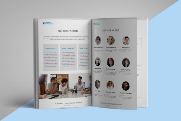 Corporate Conference Brochure Template