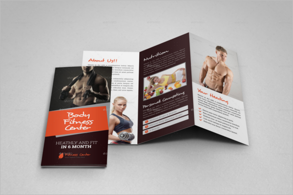 Corporate GYM Brochure Template