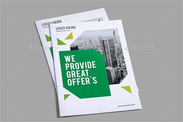 Corporate Green Brochure Template