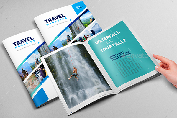Corporate Magazine Brochure Template