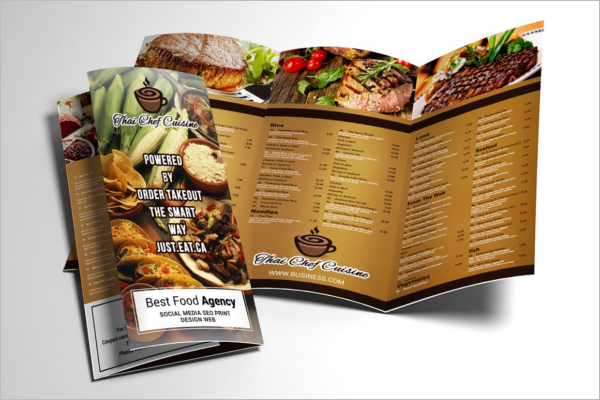 Corporate Restaurant Brochure