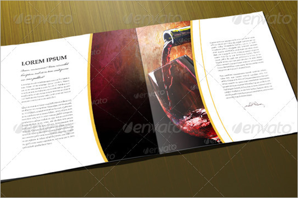 Corporate Wine Brochure