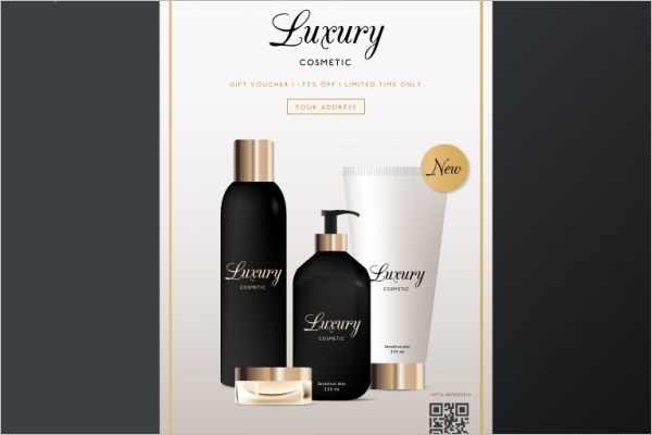 Cosmetic Brochure Template  Download
