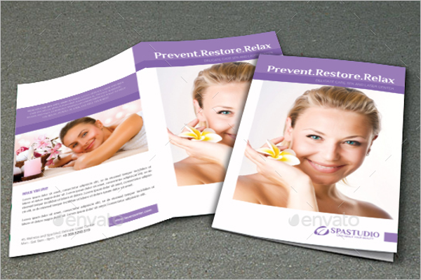 Cosmetic Brochure Template