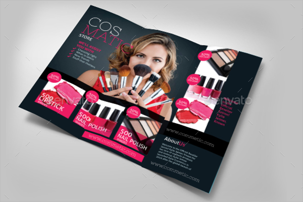 Cosmetic Store Brochure Template