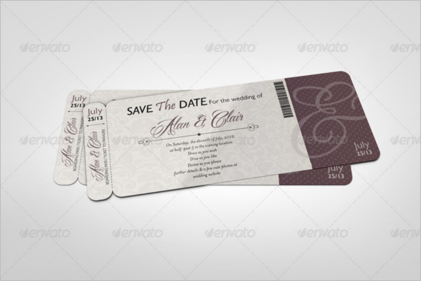 Coupon Tickets Mock-Up