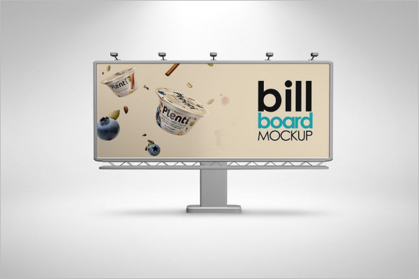 Creative Billboard Mockup