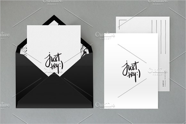 Creative Envelope Mockup