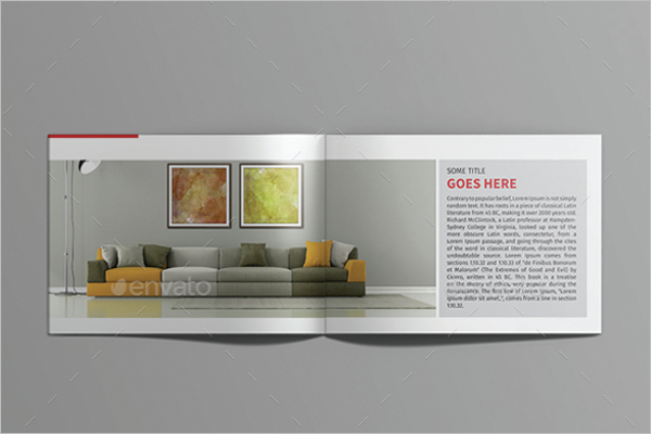 Creative Interior Design Brochure