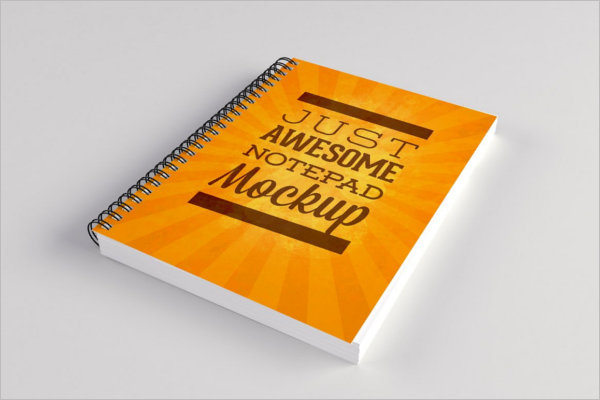 Creative Notepad Mockup