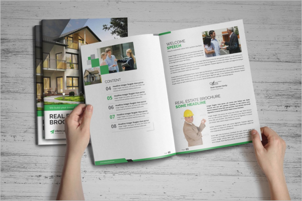 Creative Real Estate Brochure Template