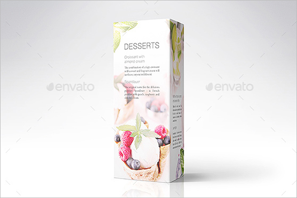 Creative Table Tent Card Mockup
