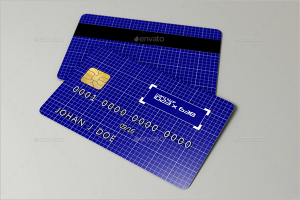 Credit Card Object Mockup