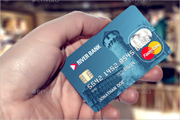 Credit Card Sale Mockup