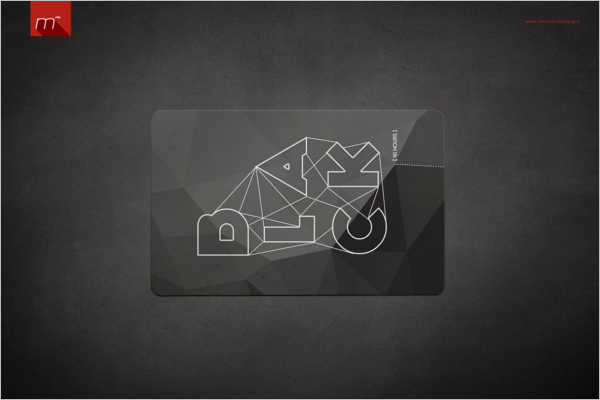Credit Card Wallet Mockup