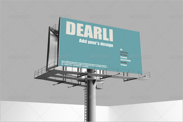 Customize Billboard Mock-up