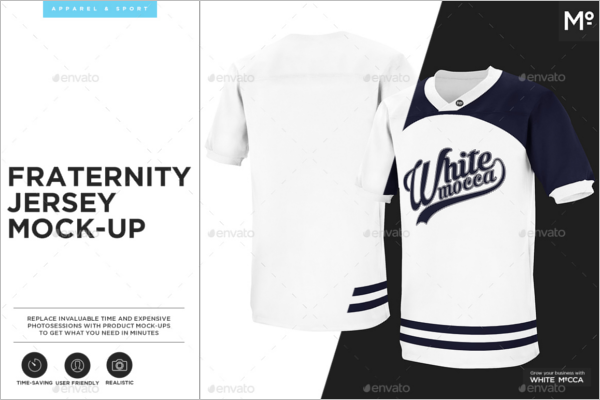 Customize Football Jersey Mockup